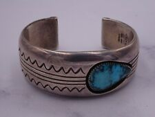 Jackson Sterling turquoise Cuff Bracelet
