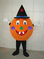 2018 Pumpkin Mascot Costume Adults Cosplay Halloween Christmas Party Fancy Dress