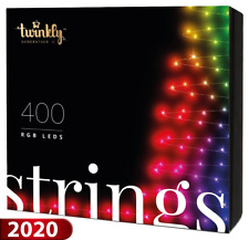 Twinkly Generation II - 400 LED String Lights | Customizable, App Controlled