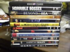 (16) Kevin Spacey DVD Lot: House of Cards Horrible Bosses 21 K-Pax Shipping News
