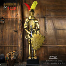 Crusader Suit of Collectibles Armor Medieval Knight 6.5'H with sword and shield