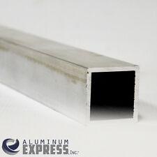 """1-1/2"""" Aluminum Square Tube 6063 T52 .125"""" Wall x 24"""" Long"""