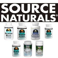 Source Naturals MAGNESIUM all sizes - select option