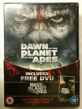 Dawn+Rise Of The Planet Of The Apes NEW 2xDVD UK5039036071703Limited Edition set
