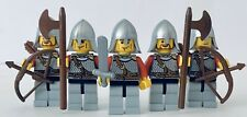 LEGO Castle Kingdoms Red Lion Knights Lot Of 5x Army Builder Armor Fantasy #4