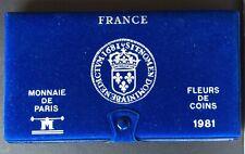 FRANCE - Superbe  Coffret FDC 1981