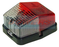 JOKON SPL115 RED WHITE CLEAR SQUARE SIDE MARKER LAMP LIGHT CARAVAN MOTORHOME