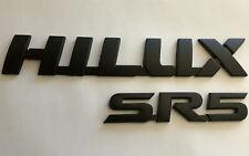 toyota HILUX  SR5 badge set, black (2015- 2019) models