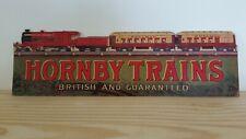 Hornby 1985 shop display Sign for o gauge trains