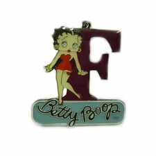 Letter F Keyring Betty Boop, Car & House Keys, Friends, Family,Cool Gifts BP1045