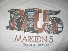 "2015 Maroon 5 ""In Stereo"" World Concert Tour (2Xl) T-Shirt"