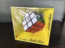 The Original Rubik's Cube Puzzle Toy 1980 Ideal in Shrink Wrap Package Box