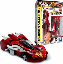 Radical Racers - Remote Controlled Wall-Climbing Car - As Seen on TV, RED! NEW