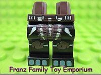 New LEGO Minifig Black LEGS Dark Brown Loin Cloth Bone Gorilla Warrior Body Part