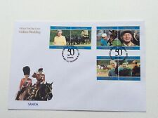 Samoa 1997 Golden Wedding First Day Cover