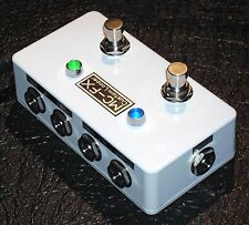 MC-FX  True Bypass Dual Looper - Rean NYS229  Jacks  - White
