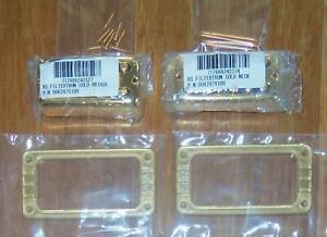 Gretsch® HS Filtertron Gold Bridge & Neck Pickup Set~Bezels Included~Brand New