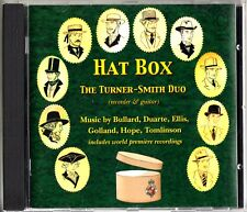 HAT BOX -The Turner-Smith Duo (Recorder & Guitar) CD-Bullard/Duarte/Ellis RARE