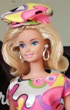 Mattel Original Barbie Doll dressed in Psychedelic Dress & Go Go Boots
