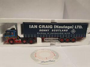 Corgi 1:50 CC13512 Volvo FM Curtainside Ian Craig Haulage Ltd