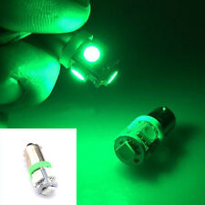 1Pc 12V Green T11 BA9S T4W H6W 363 5 LED 5050 SMD Car Wedge Side Light Lamp Bulb