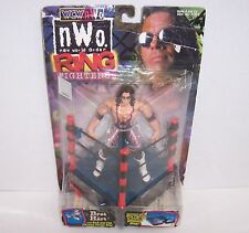 "NEW! 1999 Toy Biz WCW/nWo Ring Fighters ""Bret Hart"" Action Figure WWE WWF {1209}"