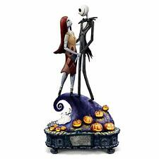 Nightmare Before Christmas Simply Meant To Be Jack And Sally Musical Figurine