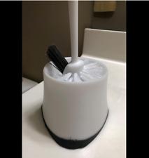 USED Toilet Plunger, White