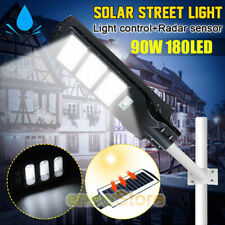 1900000LM Solar LED Street Light Commercial Outdoor IP67 Area Security Post Lamp