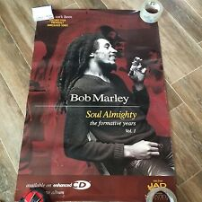 BOB MARLEY SOUL ALMIGHTY PROMO POSTER JAD RELEASE 24 X 36 RARE