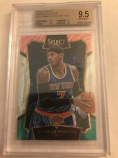 2015-16 Select Prizms Tri Color #22 Carmelo Anthony CON New York Knicks BGS 9.5