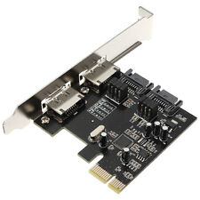 PCI-E PCI Express to SATA 3.0 eSATA 6 Gbps 4 Port Adapter Converter Card ASM1061