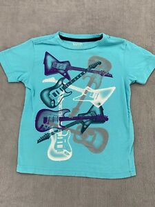 Boys Old Navy Guitar Print Graphic Size 5