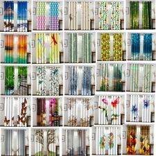 Flower Nature Scenery Window Curtains Bedroom Indoor Drapes 2 panels Set Curtain