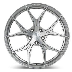 "19"" Rohana RFX5 Brushed Titanium Concave Wheels for Hyundai"