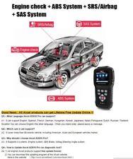 AD610 OBD2 Car Diagnostics OBD 2 Scanner Erase Airbag Crash Data ABS SAS Full En