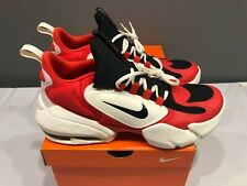 NEW Nike Mens Air Max Alpha Savage Training Shoes AT3378 Habanero Red Pale Ivory