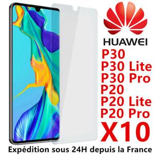 9H film protection écran Verre trempé Huawei P40 P30 Lite P20 Lite vitre premium