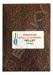 Krill & Shrimp Pellet Tropical Fish Food Aquarama Quality Premium Grade [1x 50g]