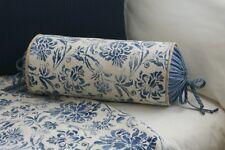 New Custom Ralph Lauren Bluff Point Neck Roll Pillow Neckroll Print/Stripe