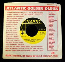 The Clovers Atlantic 1073 If I Could Be Loved By You and Nip Sip