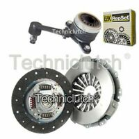 NATIONWIDE 2 PART CLUTCH AND LUK CSC FOR RENAULT KANGOO EXPRESS BOX 1.5 DCI 85