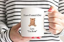 Father's Day Mug/Cup from The Bump - New Baby/Daddy to Be/1st/Teddy Bear