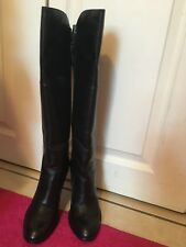 Cole Haan Air High Boots Black Leather size 6.5