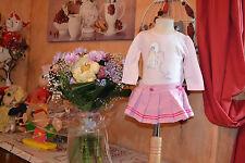 ensemble baby dior 3 mois jupe plissee avec blomer plus tee shirt rose 3 mois ++