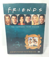 Friends - The Complete Third Season (DVD, 2003, 4-Disc Set) NEW SEALED