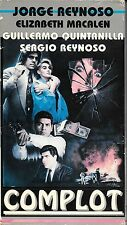 COMPLOT (VHS) Rare Mexican Thriller! Only on VHS!