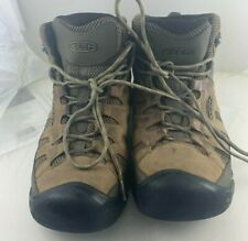 Keen Targhee Vent Mid 1019270 Men's Brown Nubuck Lace Up Hiking Boots SZ 12 M