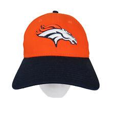 Denver Broncos NFL Baseball Cap Hat Orange Blue New Era Women Adjustable