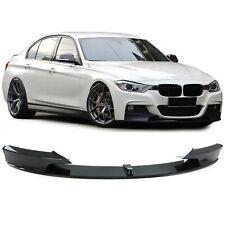 Front Spoiler Lippe Ansatz Performance Look Carbon Optik für BMW 3er F30 ab 11